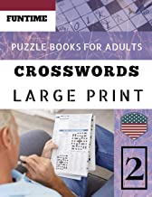Crossword puzzle books for Adults: Funtime Word Game Easy Quiz Books for Beginners | Large Print (Telegraph Daily mail Quick Crossword Puzzle)
