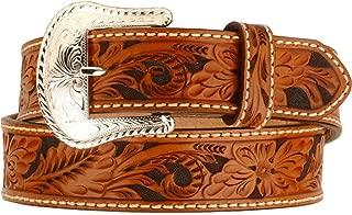 feather tooled belt
