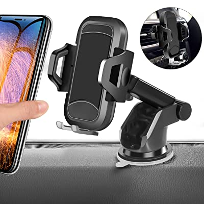 Car Phone Mount, HENKUR Cell Phone Holder for C...