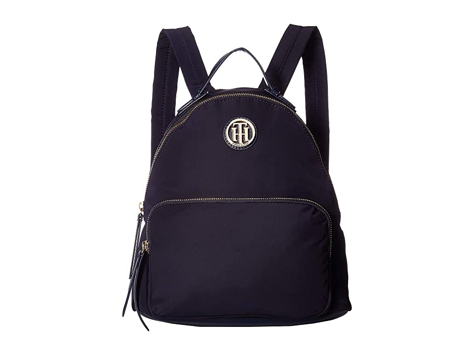 Tommy Hilfiger Ivy Dome Backpack (Midnight) Backpack Bags