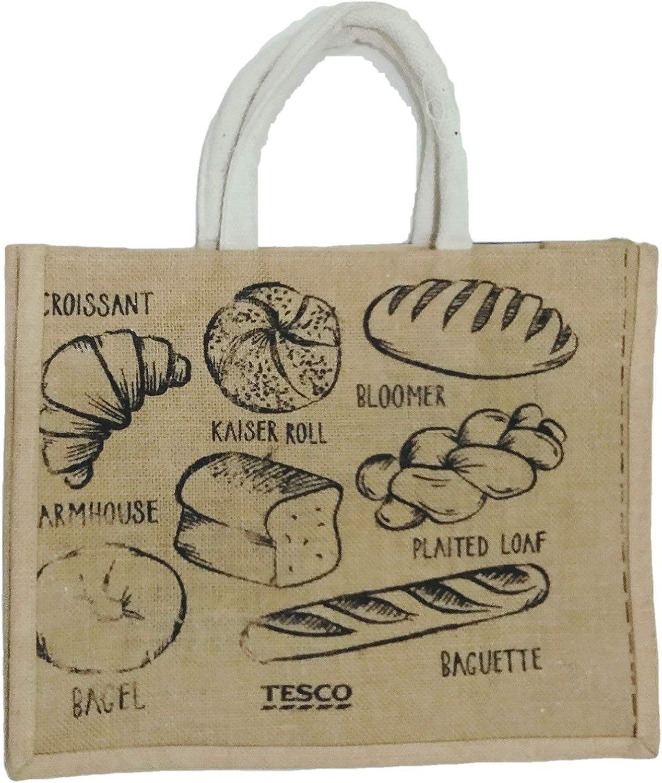 Madeleine Jute Grocery bag Bagel