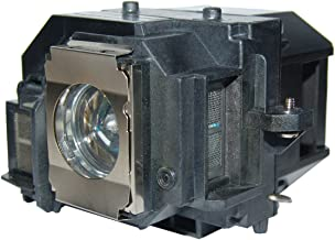 LYTIO Premium for Epson ELPLP58 Projector Lamp with Housing ELP LP58 (Original OEM Bulb Inside)