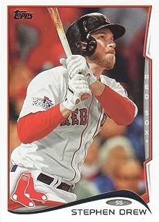 2014 Topps Baseball #585 Stephen Drew Boston Red Sox