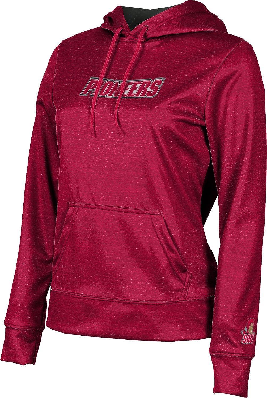 ProSphere Sacred Heart University Girls' Pullover Hoodie, School Spirit Sweatshirt (Heathered)