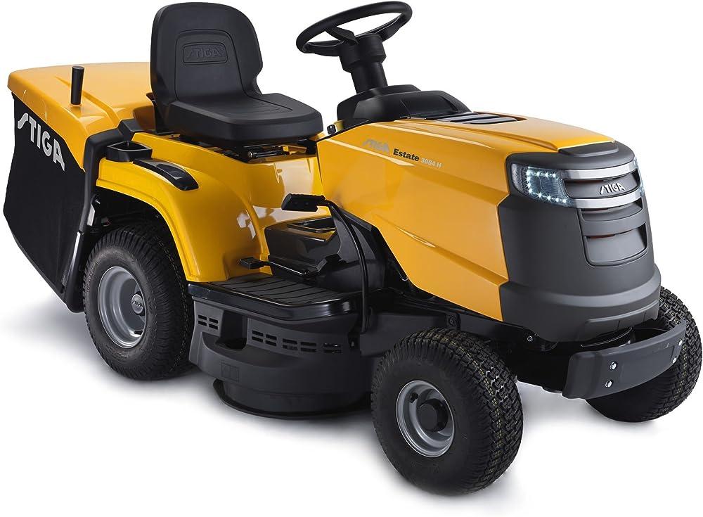 Stiga Estate 3084 Césped Tractor cortacésped – Libre Herramienta Multiusos fácil Agarre.
