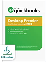 QuickBooks Desktop Premier 2020 Accounting Software for Small Business with Amazon Exclusive Shortcut Guide [PC Download]