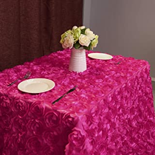 red rose tablecloth