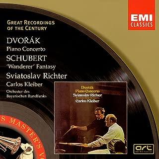 Dvorak: Piano Concerto in G Minor / Schubert: Wanderer Fantasy, D.760 Great Recordings of the Century