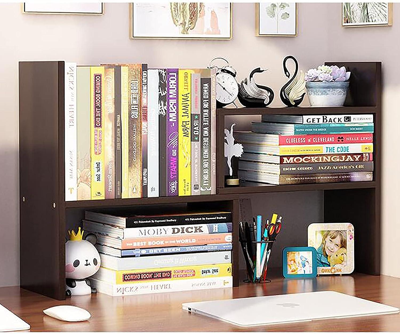 PWE-Adjustable Wood Display Shelf Japan Maker New Free Desktop Sale SALE% OFF Organizer Storage