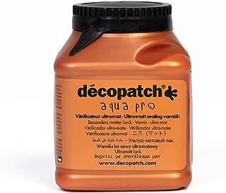 Décopatch VAUM180AO - Un pot de Vernis vitrificateur aquapro 180 ml, aspect Mat