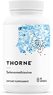Thorne Research - Selenomethionine - 200 mcg Selenium Supplement for Antioxidant Support - 60 Capsules