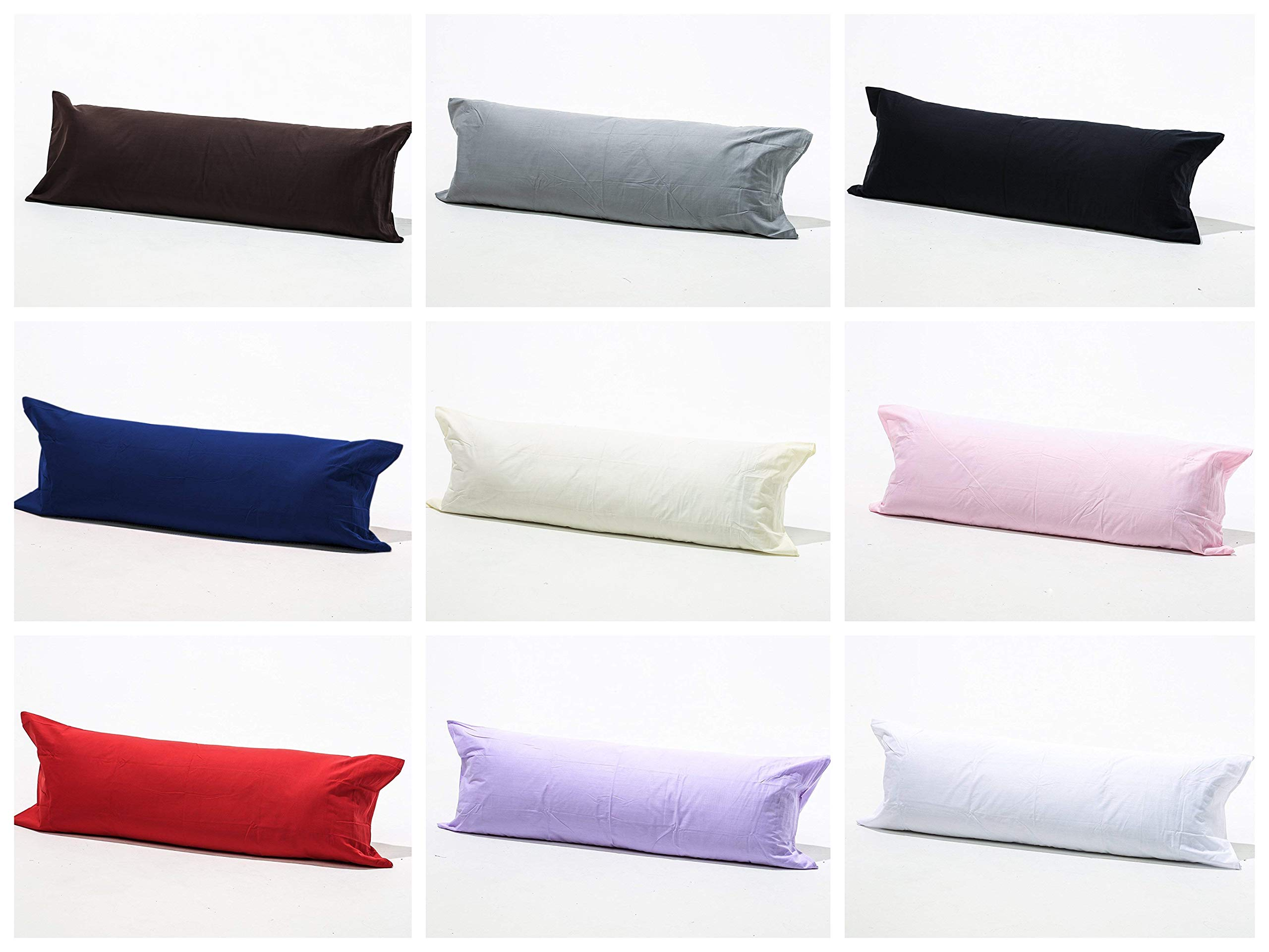 Non-Allergenic Bolster Support Maternity Pregnancy Support Pillow OR Case
