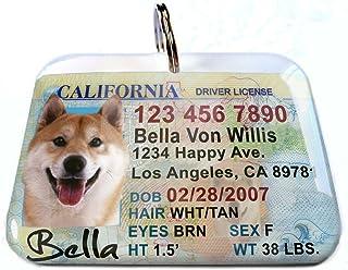 California License Identification ID4Pet Regular