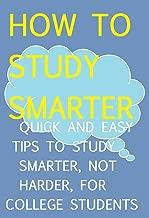 study smarter not harder tips