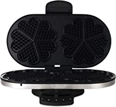 Wilfa Traditional Norwegian Waffle Maker WAD-518MS, 1400-Watts, Made in Norway. IMPORTANT: EUROPEAN POWER PLUG AND VOLTAGE. USE PLUG ADAPTER/VOLTAGE CONVERTER IF YOU ARE IN NORTH AMERICA