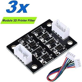lot de 6 BZ 3D TL-Smoother AddonModule pour enlever le moteur filtre /à clipping TL-Smoother imprimante 3D pilotes pas /à pas