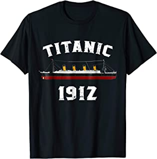 Titanic 1912 April T Shirt Tee Ship Voyage Atlantic Ocean