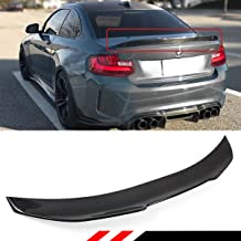 Cuztom Tuning Fits for 2014-2018 BMW 2 Series F22 M235i M240i F87 M2 Carbon Fiber PSM Style Duckbill Highkick Trunk Spoiler Wing