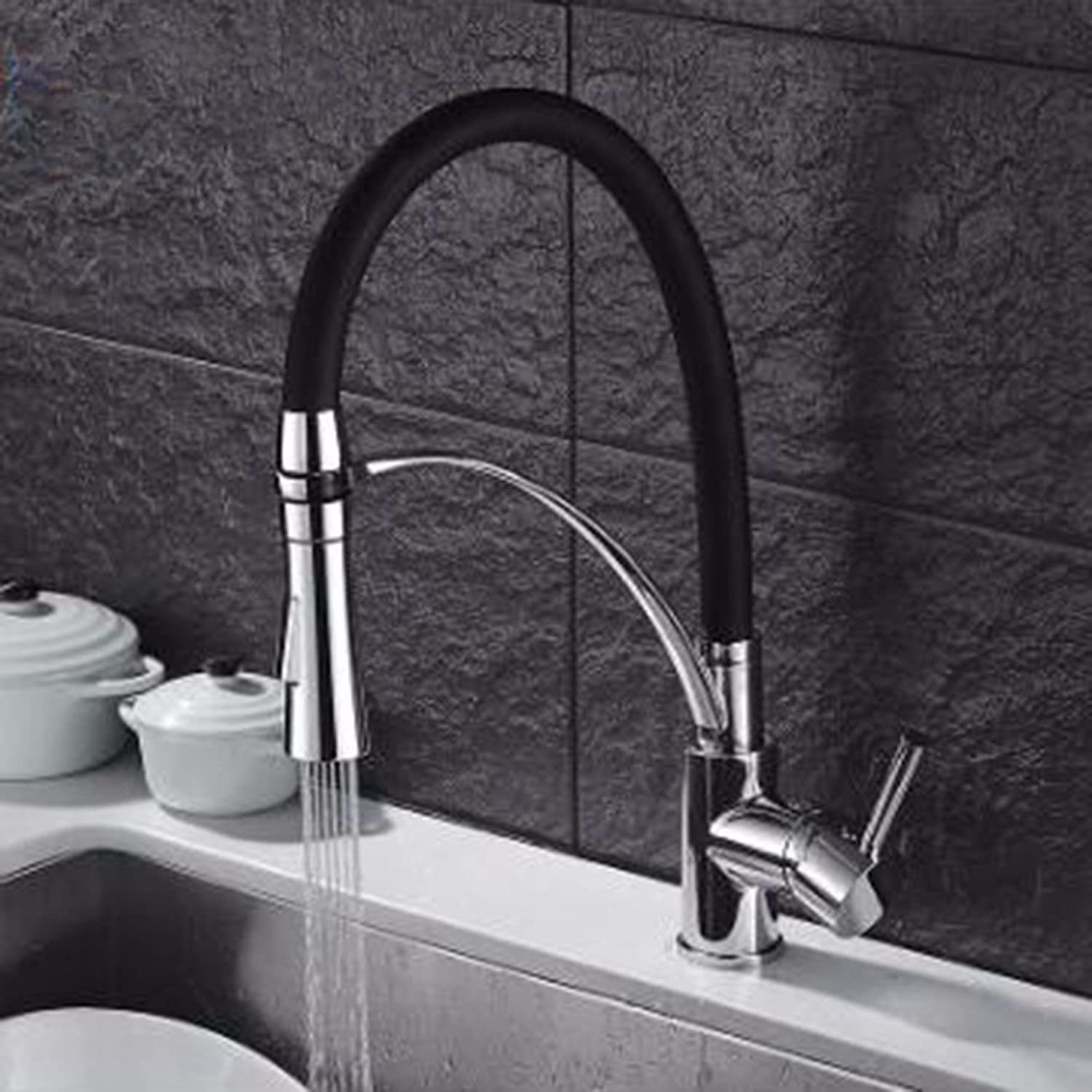 JFBZS-kitchen sink taps Personalized Creative Water Faucet Kitchen Washing Basin Faucet Faucet Shower Water