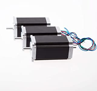 Us Ship 3 Pcs Nema 23 Stepper Motor 425 Oz.in Dual Shaft, Longs Motor