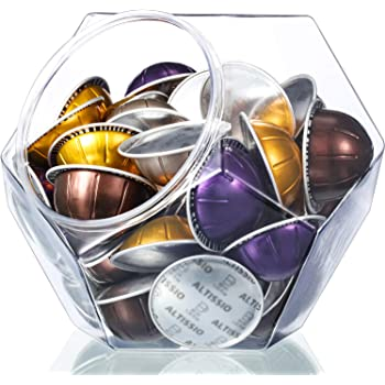 Large-Capacity 12-Sided Polygon Elegant Coffee Pods Holder for Nespresso Vertuoline Capsule