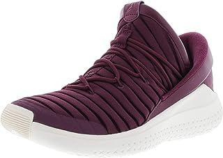 22144c128cc Nike Men's Jordan Flight Luxe Bordeaux / - Sail Ankle-High Fabric  Basketball Shoe 10M