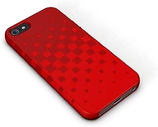 XtremeMac IPP-TWN-73 Tuffwrap Case for iPhone 5/5s - Cherry Bomb Red