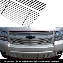 APS Compatible with 2007-2014 Chevy Tahoe Suburban Avalanche Billet Grille Grill Insert Combo C67919A