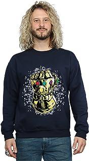 Marvel Men's Avengers Infinity War Thanos Fist Sweatshirt
