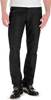بنطلون جينز عصري بتصميم رفيع وساق مستقيمة للرجال من لي