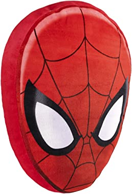 """Jay Franco Marvel Spiderman Classic Face Pillow - Measures 14"""" x 9"""" x 3"""" Super Soft Polyester Microfiber (Official Marvel Pro"""