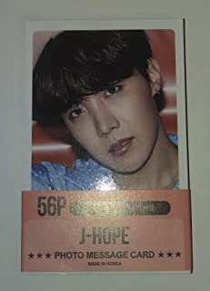 (Released September 2019) BTS Member Photocards 56pcs Set New Version (J-HOPE)