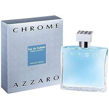 Azzaro Chrome (M) Eau de Toilette 100 ml: : Beauty