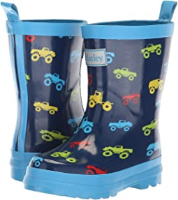 Colourful Monster Trucks Navy/Blue