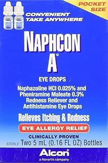 Naphcon-A Eye Drops, Twin Pack, 5-mL Each