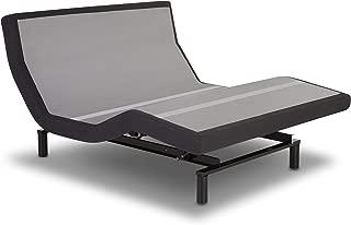 Prodigy 2.0 Leggett and Platt Adjustable Bed Base with Wireless Massage Bluetooth Head Tilt, Queen