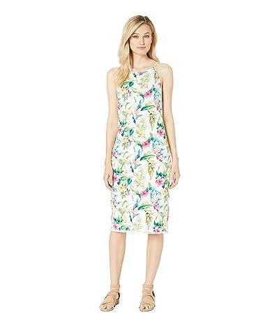 Tommy Bahama Tropicalia Midi Dress (White) Women