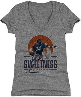 500 LEVEL Walter Payton Women's Shirt - Vintage Chicago Football Shirt for Women - Walter Payton Chicago Skyline