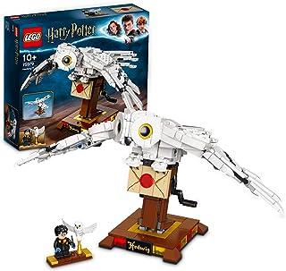 LEGO 75979 HarryPotter Hedwige, Modèle d'affichage à Collectionner avec Ailes Mobiles