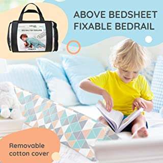 Bed Rails for Toddlers - Toddler Bed Rail Keep Them Safe at Night from Falling Out of Bed - Includes Clip to Hold in Place!