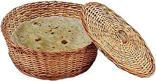 HM SERVICES Cane Chapati Basket