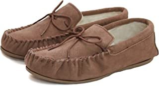 Eastern Counties Leather Unisex Wool-blend Hard Sole Moccasins