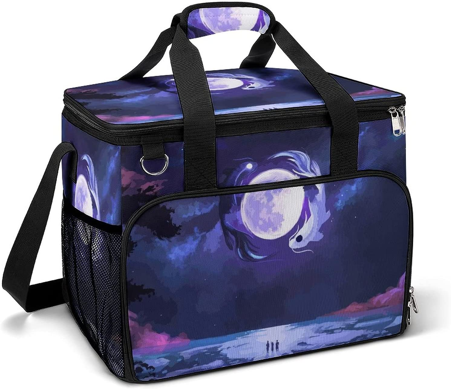 shipfree Cooler Ice Bag Anime Landscape Pattern Custom Portable Large Challenge the lowest price of Japan Cap