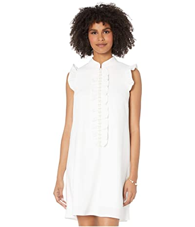 Lilly Pulitzer Adalee Shift Dress (Resort White) Women