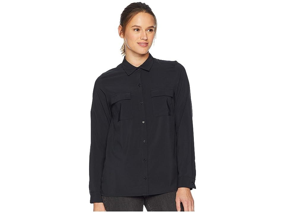ExOfficio Kizmettm Long Sleeve (Black) Women