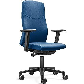 Blauer Bürostuhl