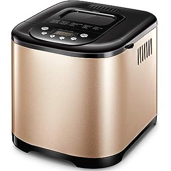 Yabano Machine à Pain 19 Programmes Acier Inox Pour Yaourt, Pain Sans Gluten, 15H, 1kg, 650W