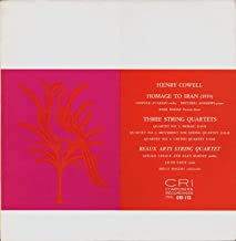 Henry Cowell: Homage to Iran / String Quartets # 2,3, & 4