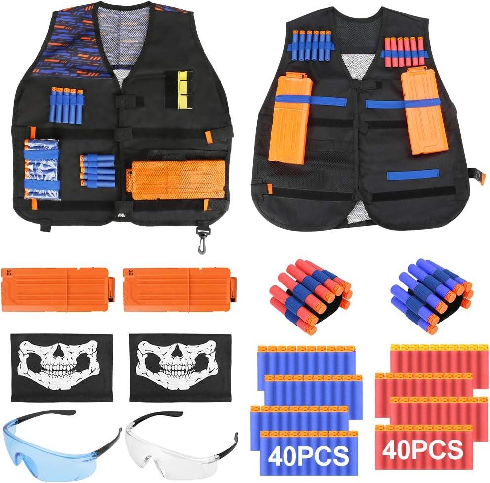 Yideng Max 82% OFF Kids Tactical Vest 110Pcs 2 Kit Jacket 2021 model Set