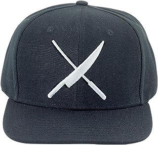 Mercer Culinary M60132BKW Cap, O/S, Black w/Large White Logo